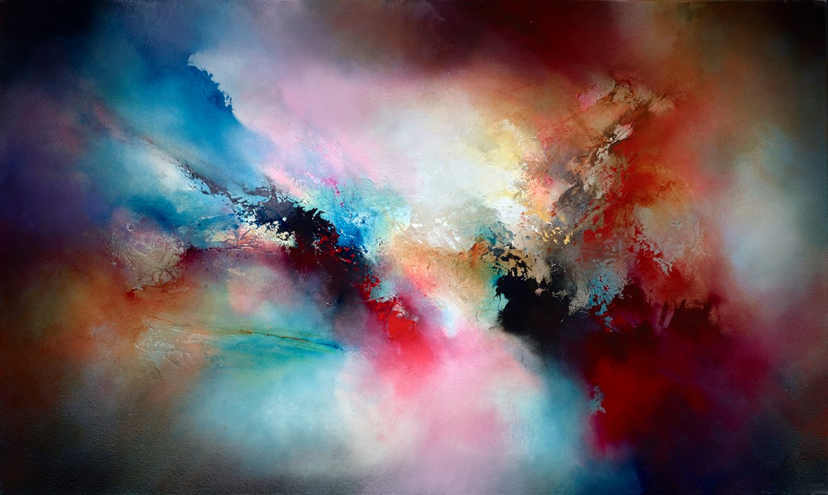 The Expanse by simon kenny -  sized 60x36 inches. Available from Whitewall Galleries